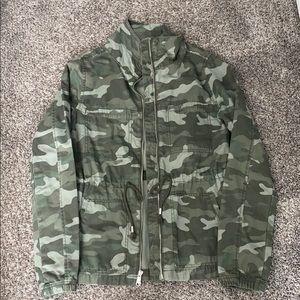Old Navy Twill Camo Jacket